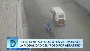 """Malhechores atacan a sus víctimas bajo la modalidad del """"robo por arrastre"""""""