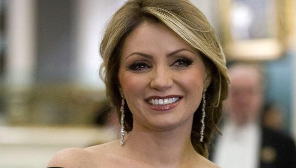 Tras su divorcio con Peña Nieto, ella decidió alejarse de las redes sociales (Foto: JUSTIN TALLIS / AFP)