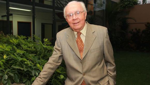 Jorge Avendaño fue un destacado abogado con más de 40 años de trayectoria. (El Comercio)