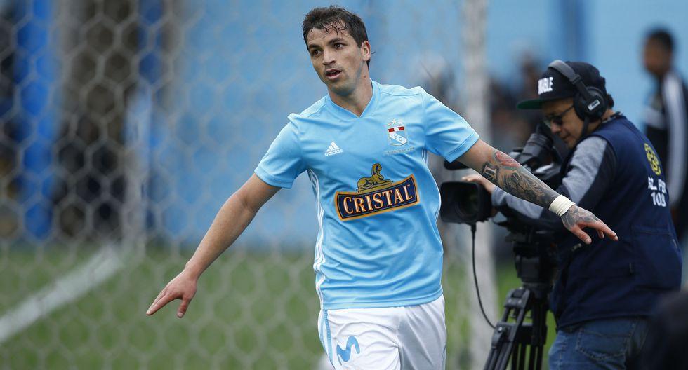 Gabriel Costa, jugado de Sporting Cristal. (Foto: Francisco Neyra)
