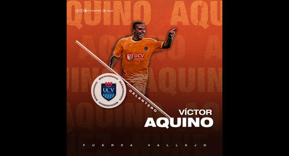 Víctor Aquino procedente de Deportivo La Guaira de Venezuela. (Foto: Twitter)