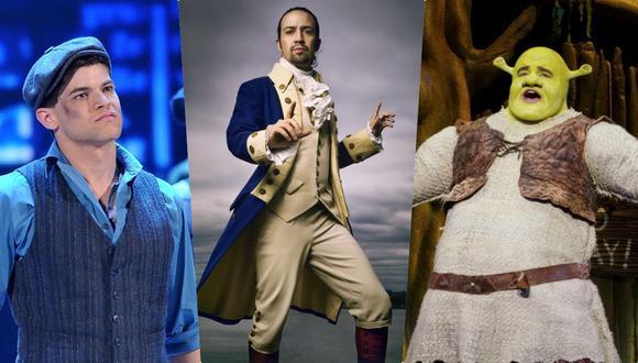 """¿Te gustó """"Hamilton""""? No es el único musical que puedes ver en streaming."""