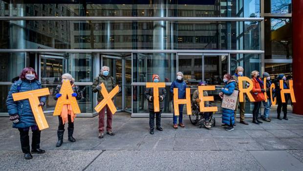Biden plantea financiar parte de sus planes con un aumento de impuestos a los ricos, un viejo reclamo de los progresistas en EE.UU. (Foto: Getty Images)