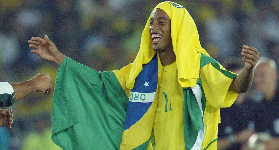 Ronaldinho (Brasil). (Foto: AFP)