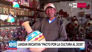 """Ministerio de Cultura y Unesco en Perú lanzan """"Pacto por la Cultura al 2030"""""""