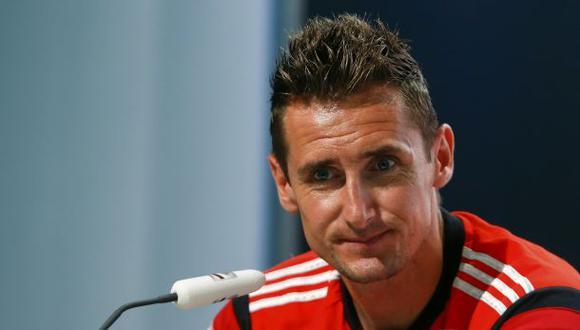"""Klose recuerda final del 2002: """"Sé lo duro que es perder"""""""