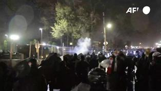 Tercera noche de protestas e incidentes en Mineápolis por joven muerto a manos de la policía