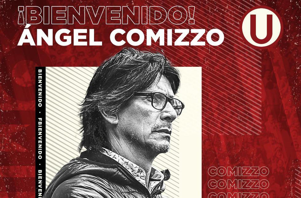 Ángel Comizzo fue anunciado como nuevo técnico de Universitario. Tendrá su tercera etapa en club crema. (Foto: Twitter)