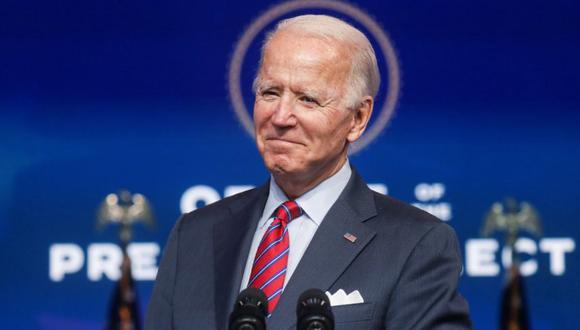 Joe Biden habla sobre la economía y el informe final de empleos de Estados Unidos de 2020 en su sede de transición en Wilmington, Delaware. (Foto: REUTERS / Leah Millis).