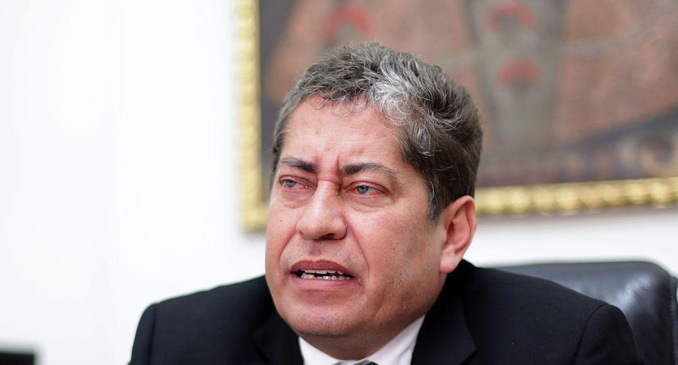 Eloy Espinosa-saldaña (Foto: El Comercio)