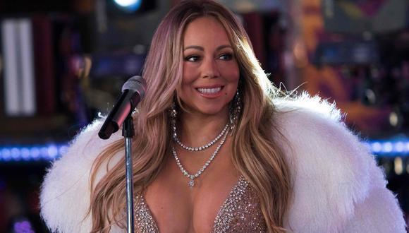 Mariah Carey recibió el Año Nuevo 2018 con presentación en Times Square, evento donde se redimió tras vergonzoso incidente de hace un año. (Foto: AFP)