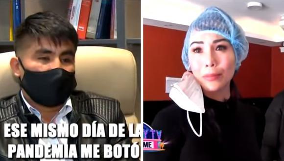 La empresaria Patty Wong fue denunciada por supuesto ex trabajador que habría despedido en plena pandemia. (Captura de pantalla / ATV).