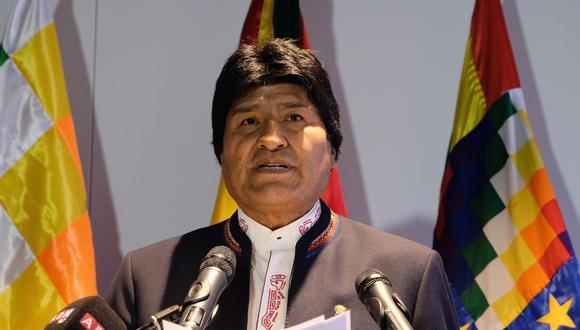 Evo Morales, presidente de Bolivia. (Foto: AP)