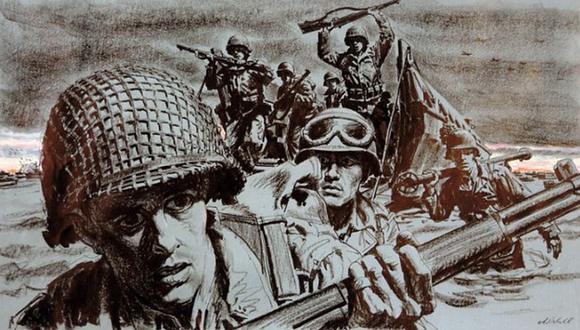 El Día D, la batalla que cambió el rumbo de la Segunda Guerra Mundial. (Imagen: BBC Mundo)