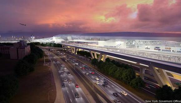 El diseño futurista para el aeropuerto más viejo de Nueva York