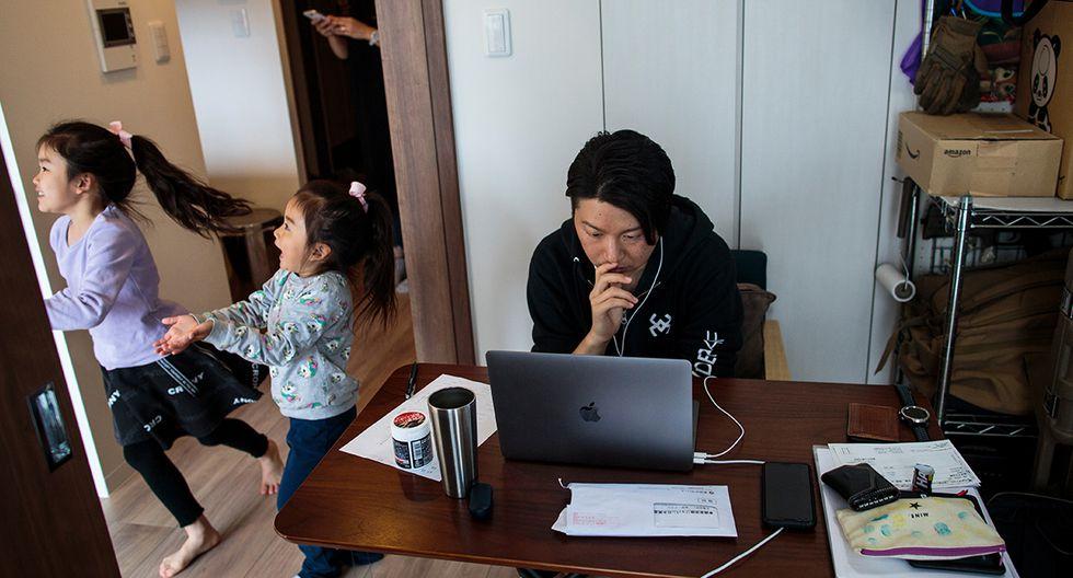 El teletrabajo puede verse afectado debido a la sobrecarga del uso del internet por otros usuarios que realizan streaming. (Foto: AFP)