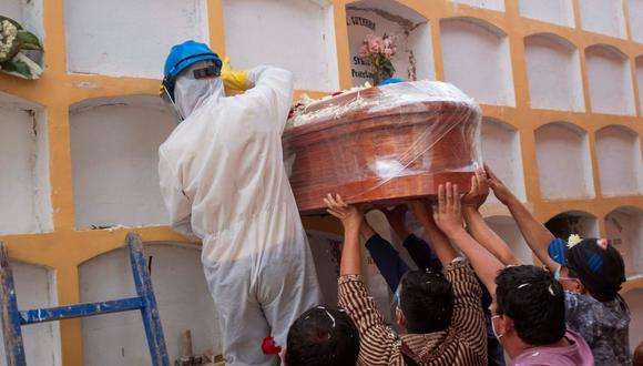 El número de muertes y contagios por este mortal virus aumentó a 55.489 y 1.653.320, respectivamente, según el Ministerio de Salud. (Foto: AP)