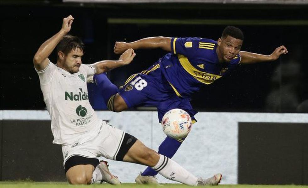 Boca vs. Sarmiento