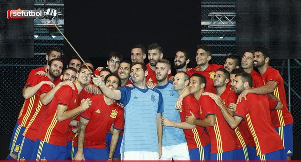 Selección española presentó nueva camiseta para la Euro (FOTOS) - 3