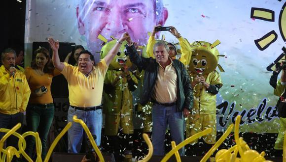 Luis Castañeda y José Luna afrontan un pedido de 36 meses de prisión preventiva. (GEC)
