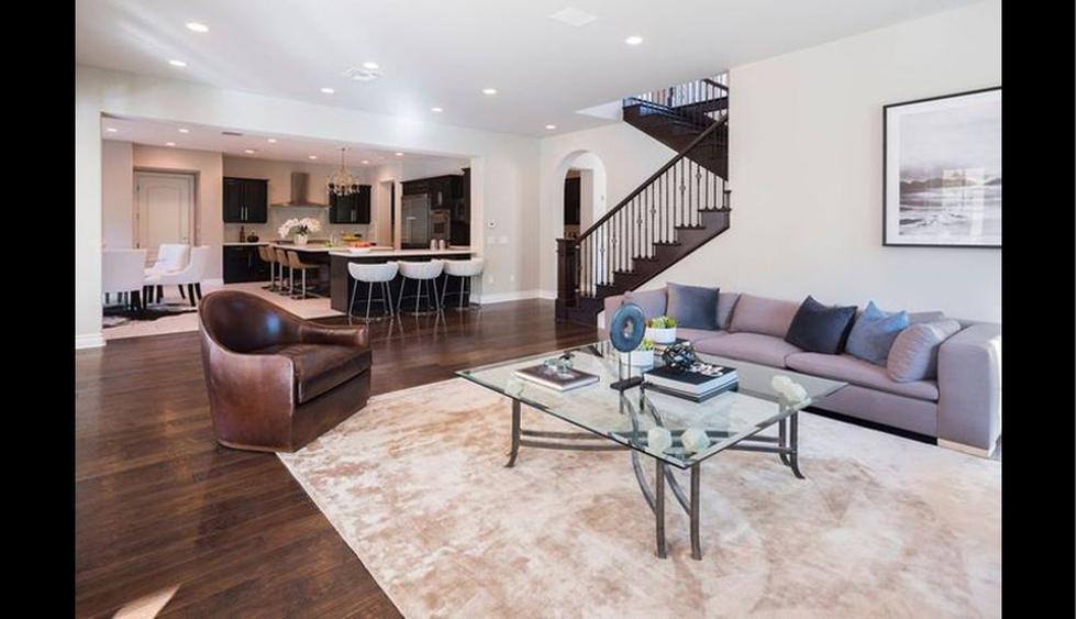 La cantidad total de espacio habitable suma 6,040 pies cuadrados, e incluye una residencia principal y una casita de invitados. (Foto: Realtor)