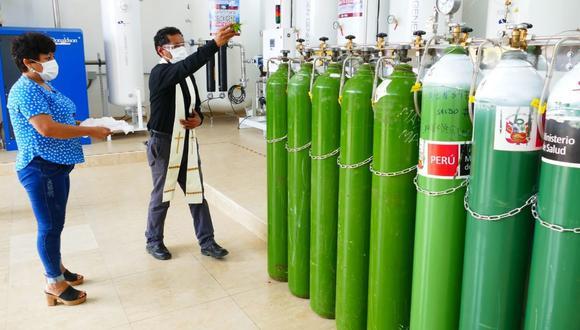 La adquisición de los contenedores de oxígeno se realizará en dos fases. (Foto: Gobierno Regional de Lambayeque)