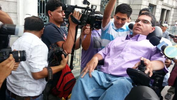 Michael Urtecho estará hoy nuevamente frente al juez