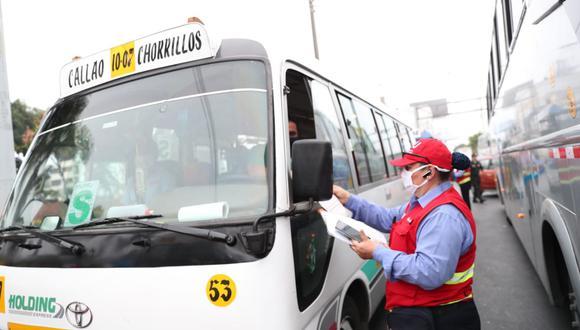 El transporte público deberá regirse a un horario establecido en los días feriados de Semana Santa. (Foto: Andina)