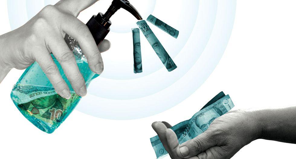 El MEF diseña una estrategia gradual que combina tres ámbitos para acceder a fondos: asignaciones presupuestales (que ya se vienen dando), el acceso a activos como el Fondo de Estabilización Fiscal (FEF), y el acceso a endeudamiento. (Ilustración: Raúl Rodríguez/El Comercio)