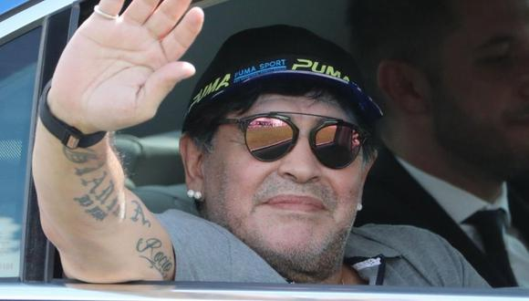 Diego Maradona recibe un nuevo homenaje  (Foto: EFE)