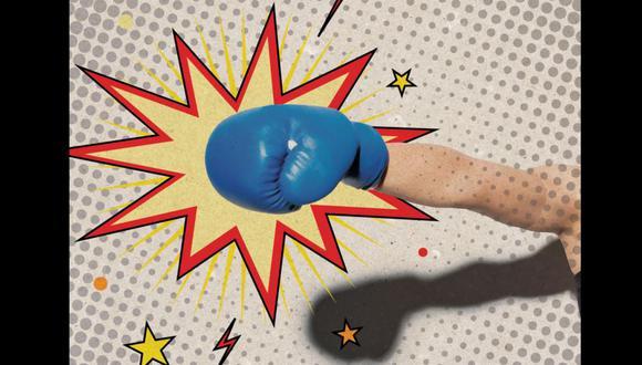 """""""Nada es tan poderoso para soltar la ira como unos guantes de box"""". Lee la columna de Lorena Salmón. (Ilustración: Kelly Villarreal / Somos)"""