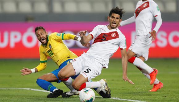 Perú vs. Brasil: Neymar anotó tres veces, dos de sus goles fueron por penales polémicos. | Foto: REUTERS