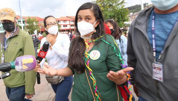 Verónika Mendoza fue candidata presidencial de Juntos por el Perú en las elecciones del 11 de abril | Foto: Juan Sequeiros