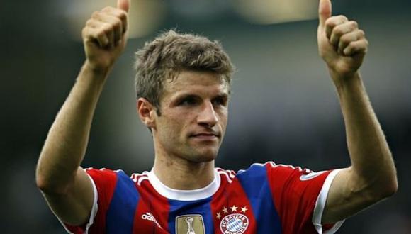 La reacción de Thomas Müller al conocer rival en Champions