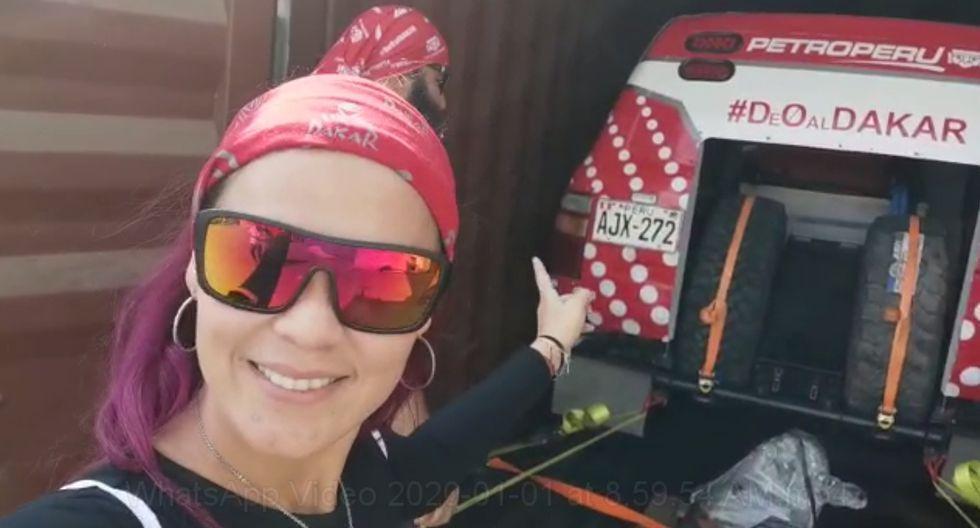 """Fernanda Kanno recogiendo """"La Cero"""". (Video: Cortesía Fernanda Kanno)"""