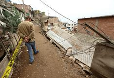 Reportan que un colegio de Cañete y otro de San Juan de Miraflores sufrieron daños por temblor de magnitud 6