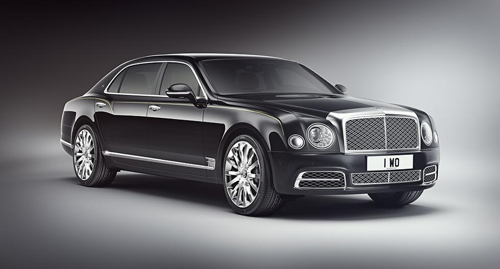Edición limitada del Bentley Mulsanne exclusiva para el mercado chino. (Foto: Bentley)