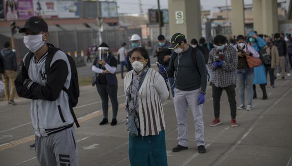 """Lima experimenta un """"ligero"""" descenso de la epidemia, pero sigue creciendo en el número de casos. (Foto: Anthony Niño de Guzman/ GEC)"""