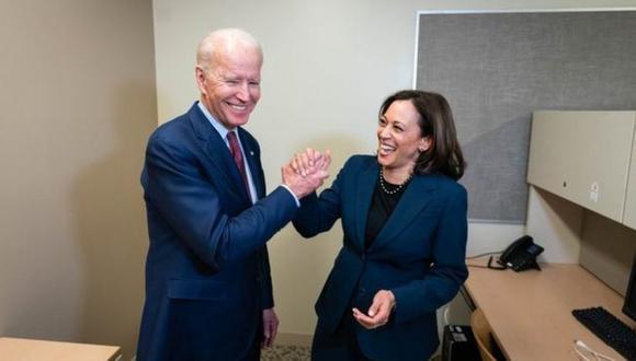 Joe Biden eligió a Kamala Harris como su candidata a vicepresidenta. (TWITTER JOE BIDEN).