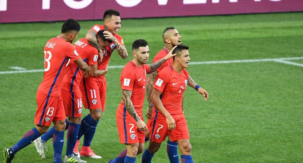 Chile enfrentará a Portugal en semifinales de la Copa Confederaciones. (Foto: AFP)