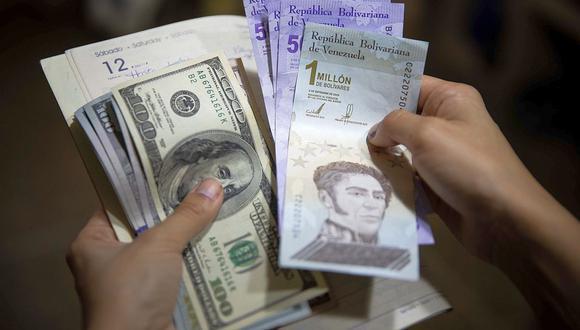 ¿Cuál es el precio del dólar en Venezuela? (Foto: EFE)