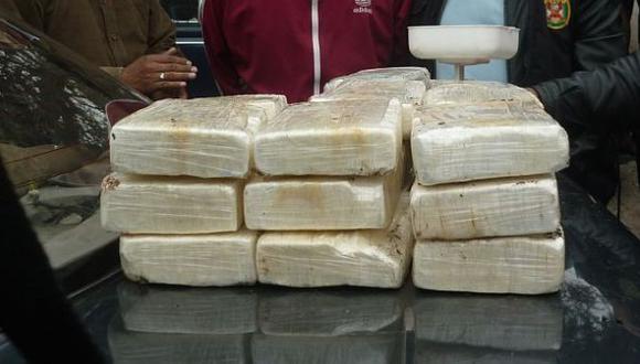 Piura: casi 20 kilos de cocaína eran llevados en tanque de auto