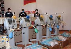 Cajamarca: hospital regional recibe cinco ventiladores mecánicos para atender a pacientes de coronavirus