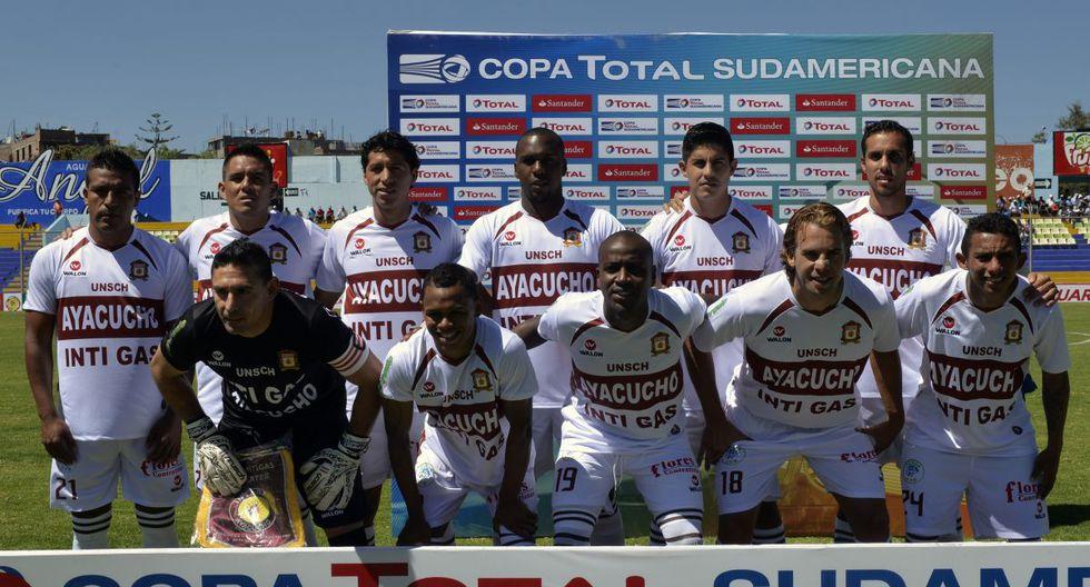 Club: Ayacucho FC   Nombre anterior: Inti Gas. (AFP)