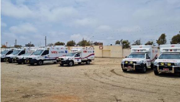 Para asegurar el funcionamiento de estas ambulancias la Gerencia Regional de Salud (Geresa) está solicitando 13 millones 763 mil 019.90 soles para contratar personal de salud (Foto: Contraloría)