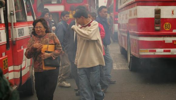 """El aire de Ate y San Juan de Lurigancho son """"insalubres"""""""