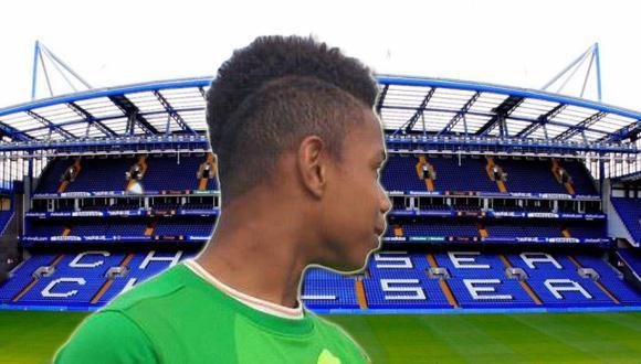 Chelsea contrató arquero francés de 13 años de 1.85 metros