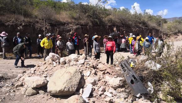 Apurímac: vecinos de Quitasol bloquean acceso a botadero de basura de Abancay