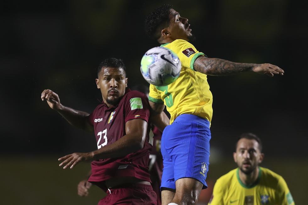 Brasil - Venezuela, por Eliminatorias Qatar 2022. (Foto: AFP)