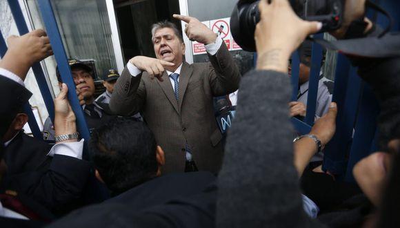Alan García declarará por segunda vez sobre este caso. (Foto: Mario Zapata)